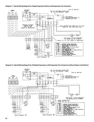 Heatcraft Walk In Freezer Wiring Diagram Download | Wiring