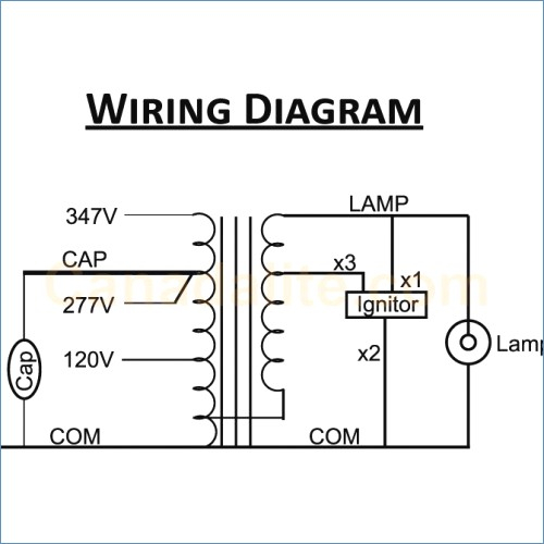 High Pressure sodium Ballast Wiring Diagram Download