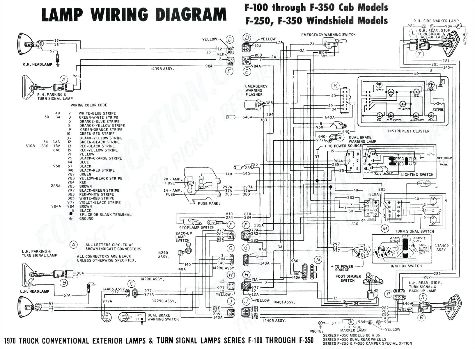 Ford F53 Ignition Wiring