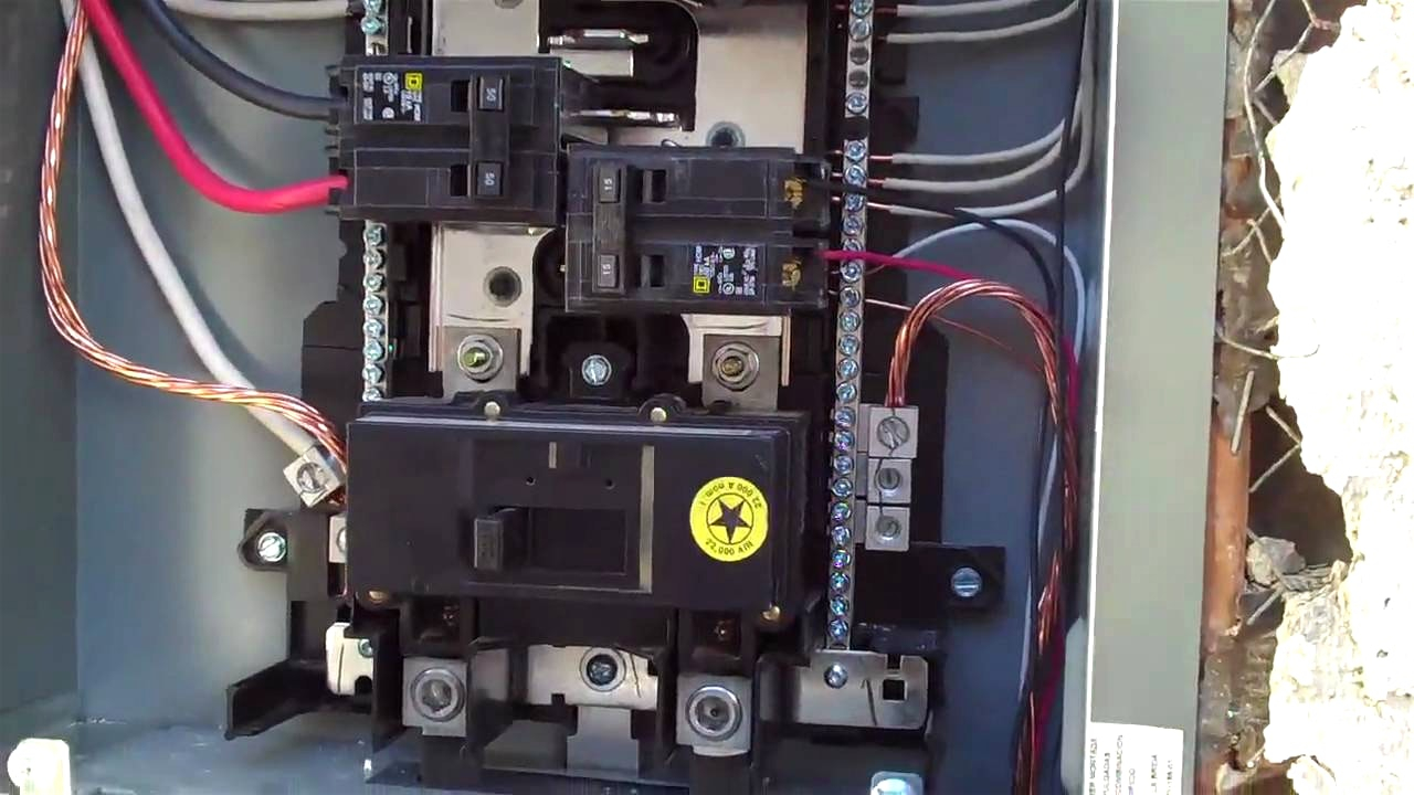 homeline outdoor load center wiring diagram ge front washer square d