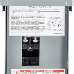 Homeline Outdoor Load Center Wiring Diagram Polaris Predator 70a Library