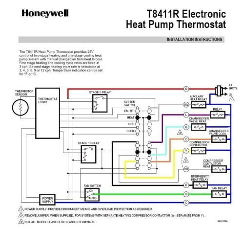 small resolution of honeywell heat pump thermostat wiring diagram download honeywell heat pump thermostat wiring diagram fitfathers me download wiring diagram