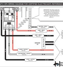 spa gfci 50 amp receptacle wiring wiring diagram expert [ 1650 x 1275 Pixel ]