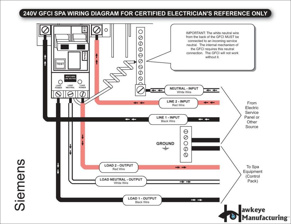 medium resolution of spa gfci 50 amp receptacle wiring wiring diagram expert