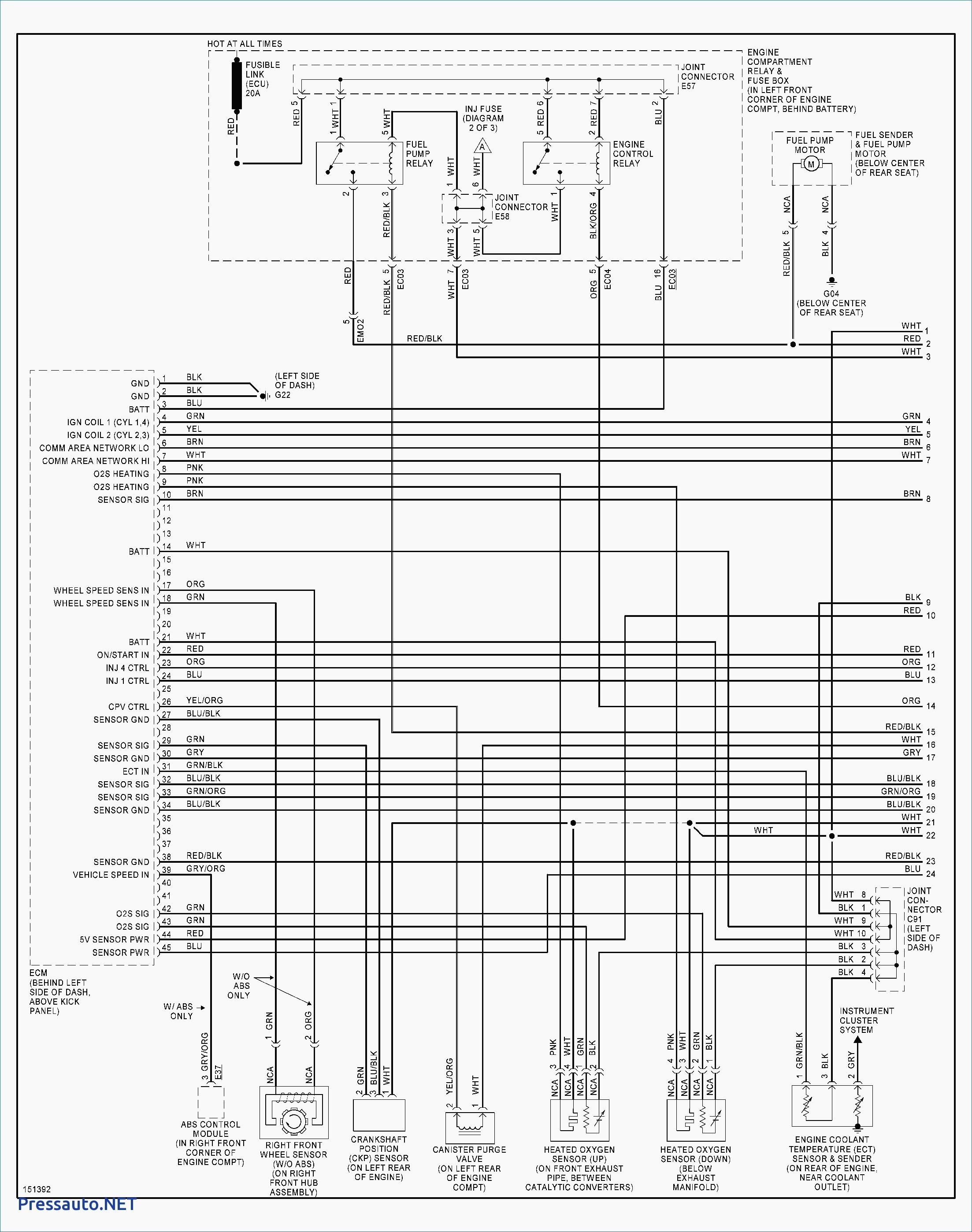 1997 Hyundai Accent Wiring Diagram