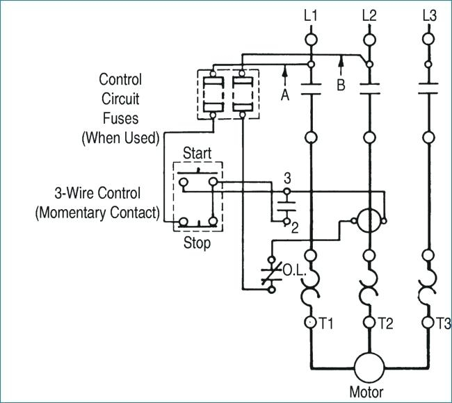 3 phase stop start wiring diagram for switch and two lights iec motor starter gallery sample collection contactor copy wonderful pole download