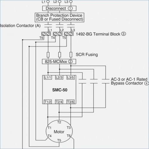 Abb soft starter control wiring diagram