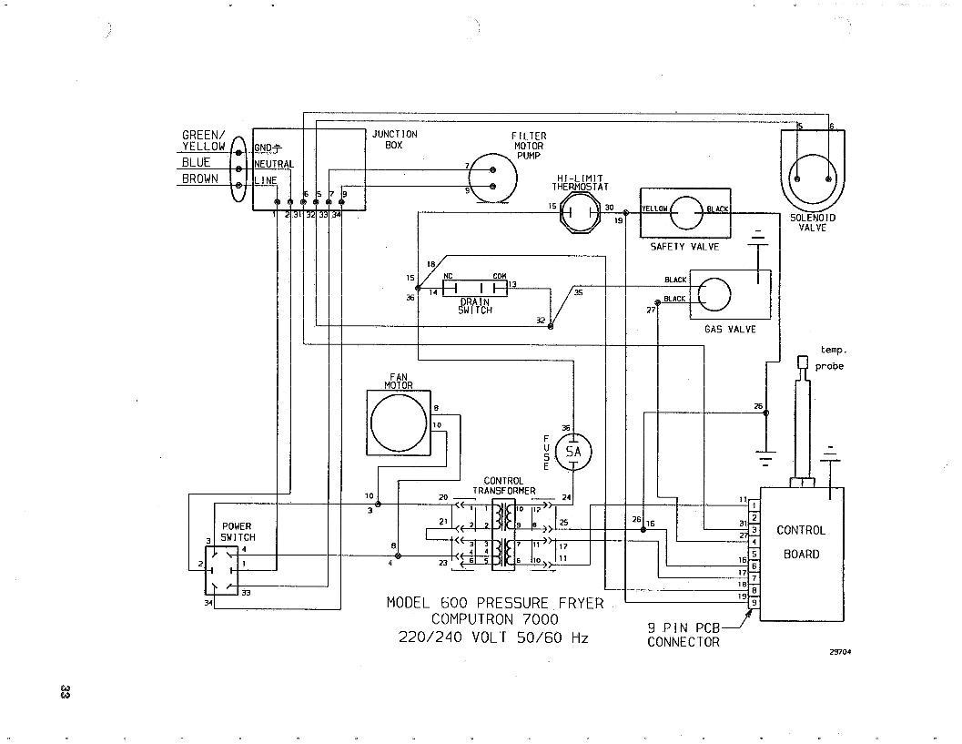 Imperial Deep Fryer Wiring Diagram Sample