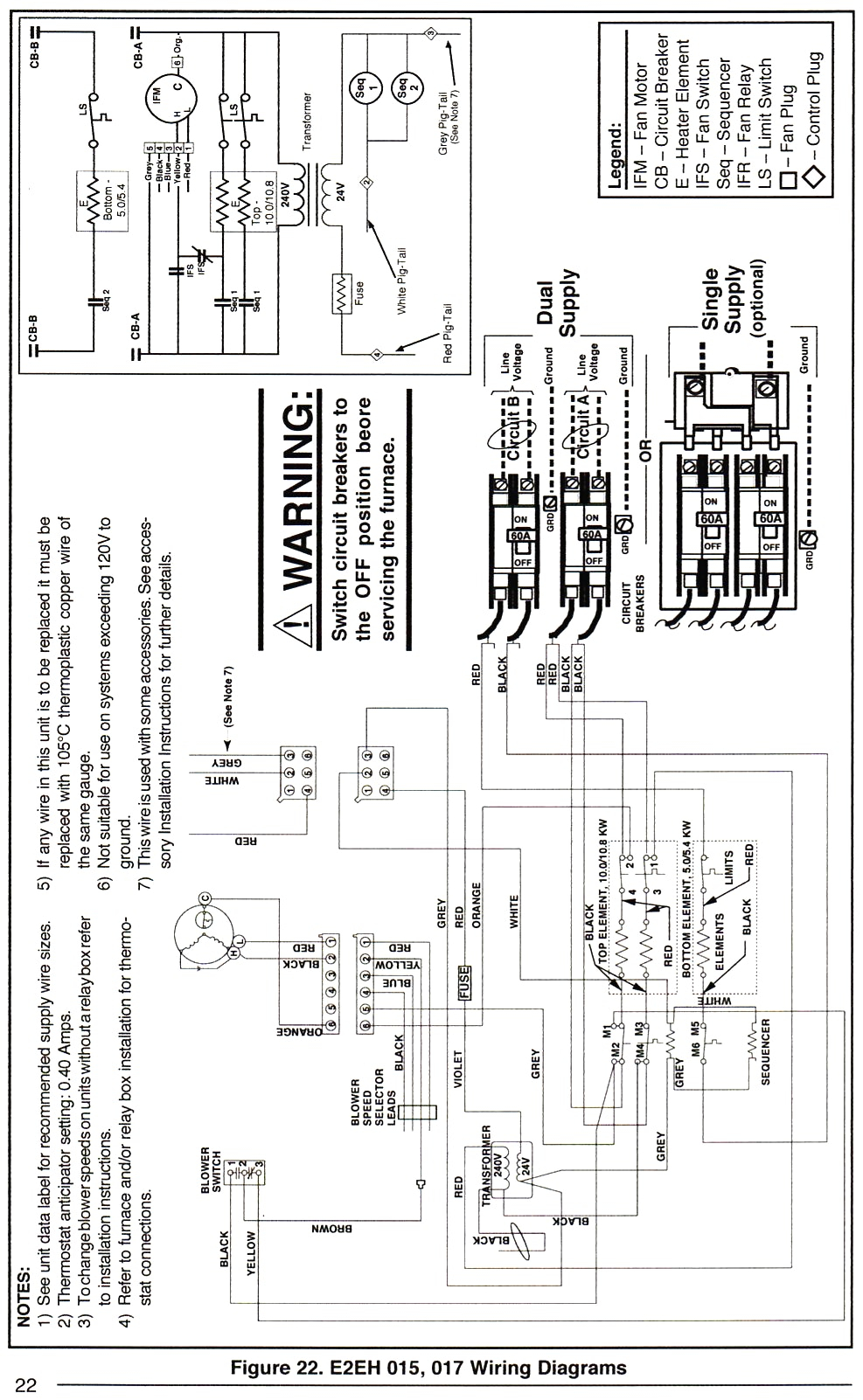 Wiring Diagram Database: Nordyne Electric Furnace Wiring