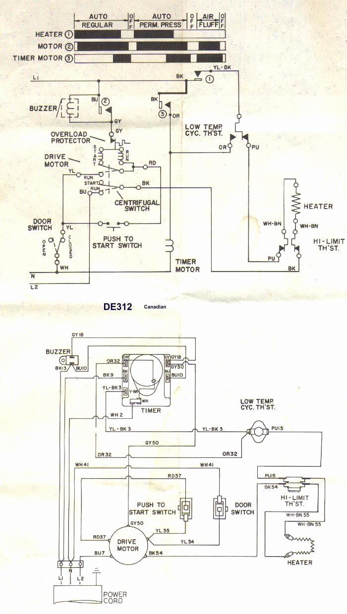 hight resolution of diagram dryer wiring whirlpool le7010 wiring diagram paper wp duet dryer wiring diagram
