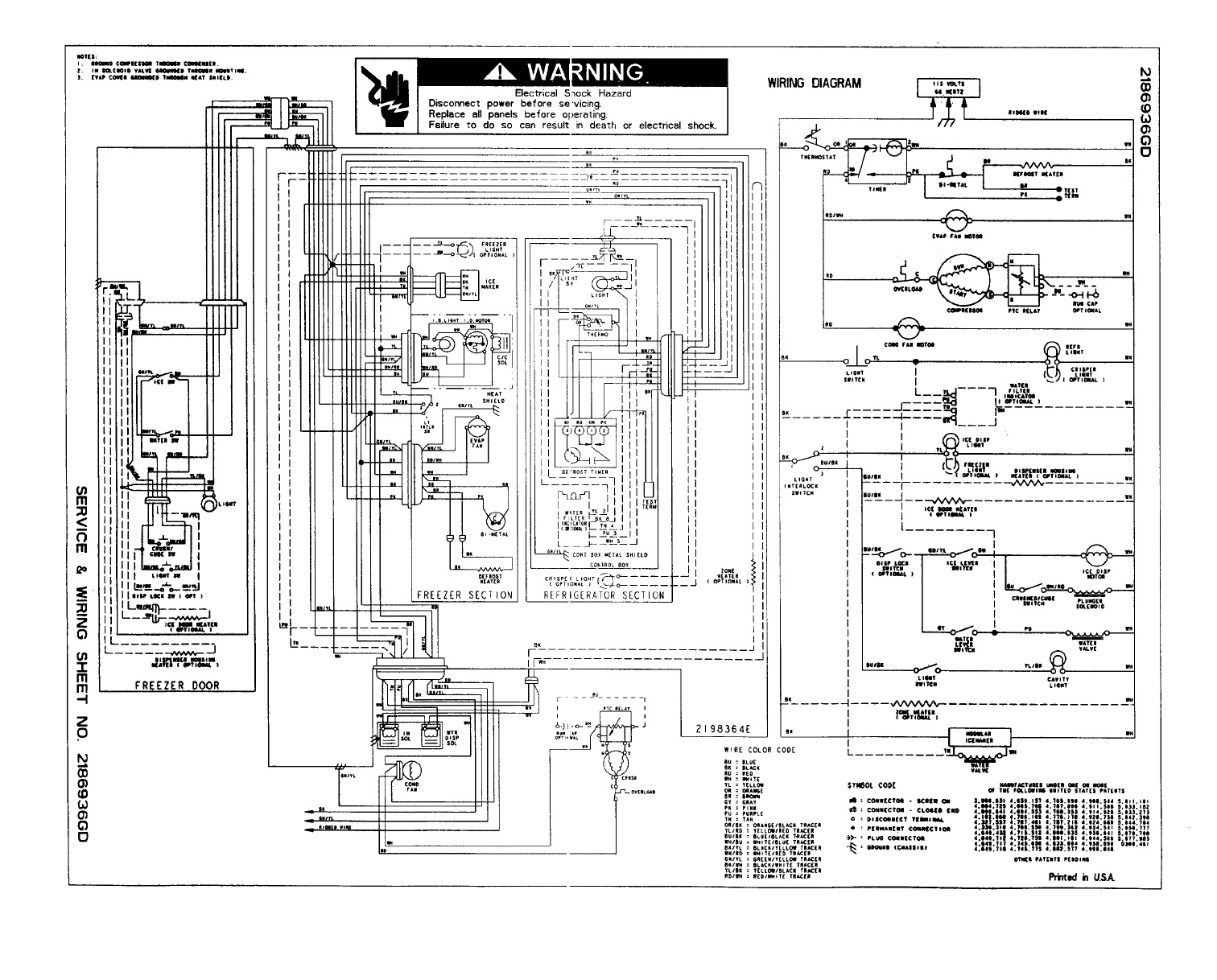 wiring diagram of refrigerator microsoft infrastructure kenmore download