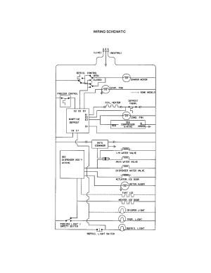 Kenmore Refrigerator Wiring Diagram Download | Wiring