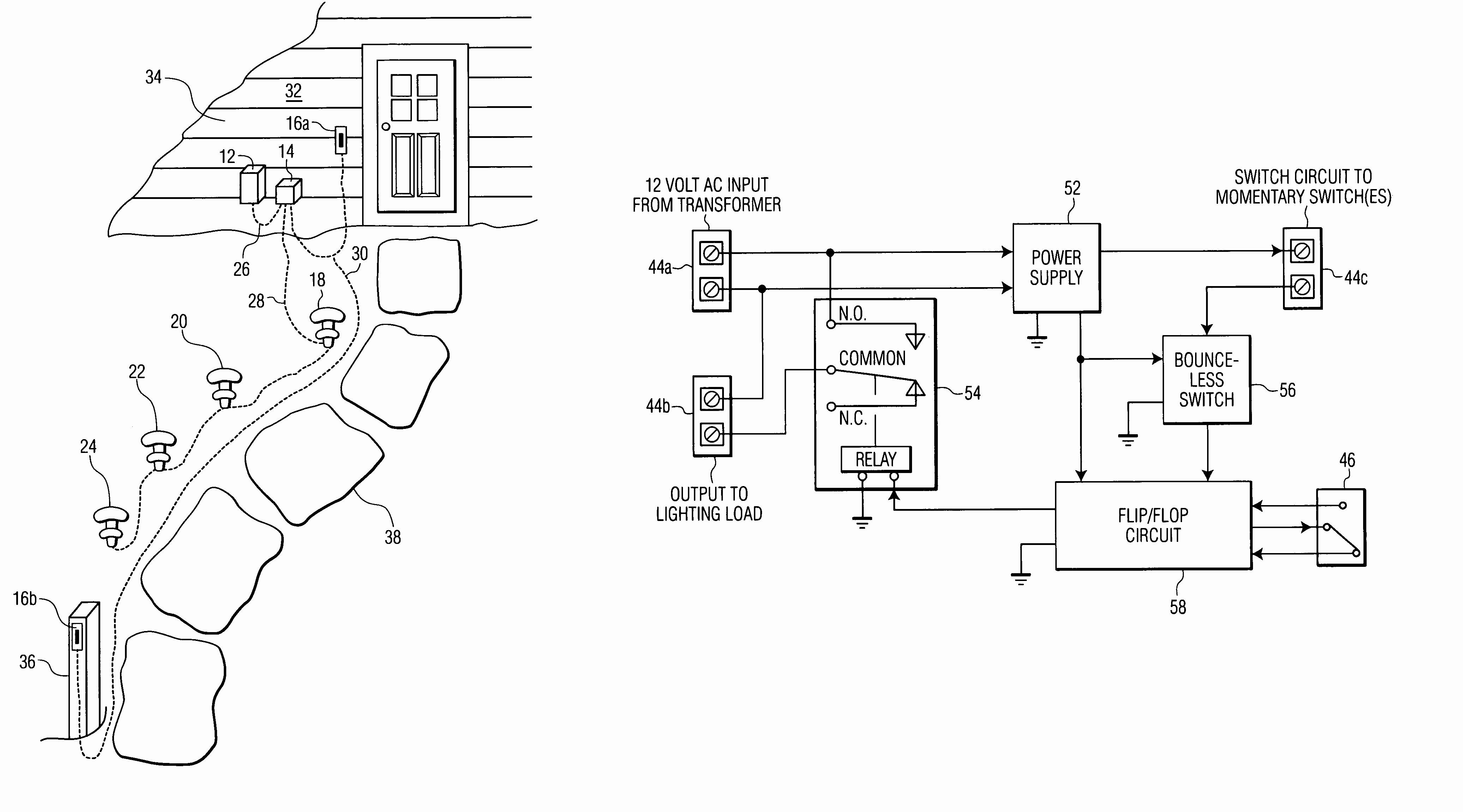 outdoor low voltage wiring diagrams