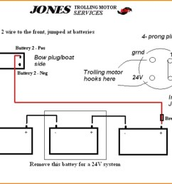 4 wire trolling motor to a 3 wire plug diagram wiring diagram used 4 wire trolling motor to a 3 wire plug diagram [ 1208 x 887 Pixel ]