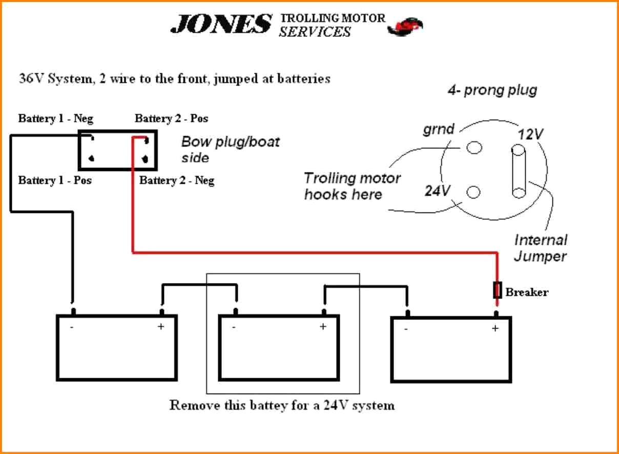 hight resolution of 4 wire trolling motor to a 3 wire plug diagram wiring diagram used 4 wire trolling motor to a 3 wire plug diagram