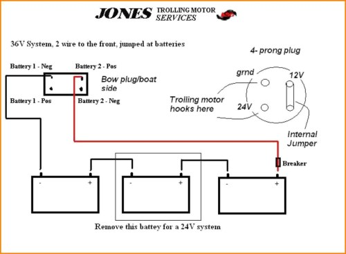 small resolution of 4 wire trolling motor to a 3 wire plug diagram wiring diagram used 4 wire trolling motor to a 3 wire plug diagram