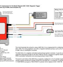 msd 6al wire diagram [ 1753 x 1240 Pixel ]