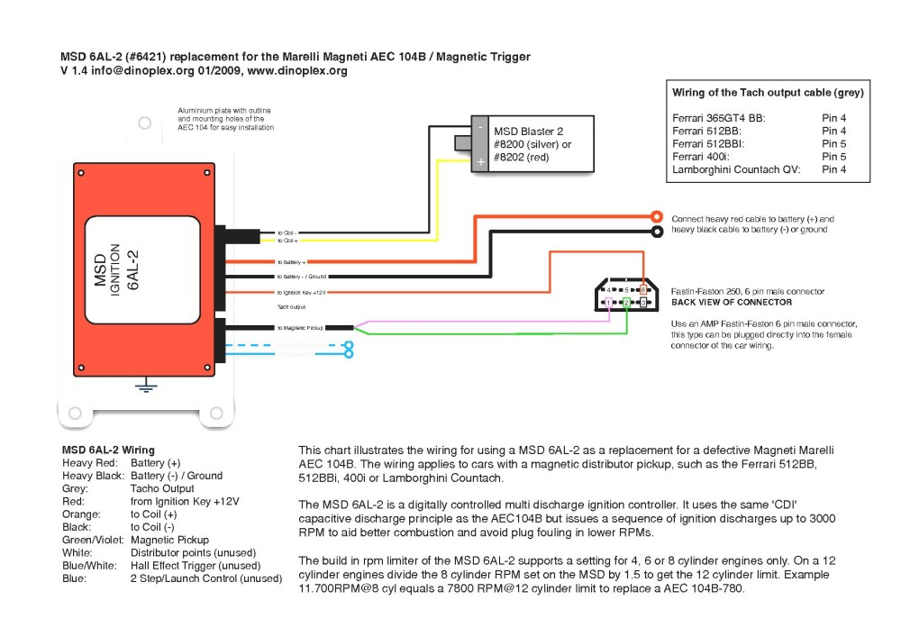 medium resolution of msd 6al 2 wiring diagram download msd 6a wiring diagram new unique ignition 6al 2