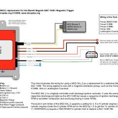 Msd 6al 2 Wiring Diagram 1992 4l80e Gallery Sample