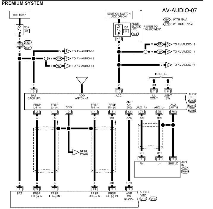 Nissan Titan Rockford Fosgate Wiring Diagram Gallery