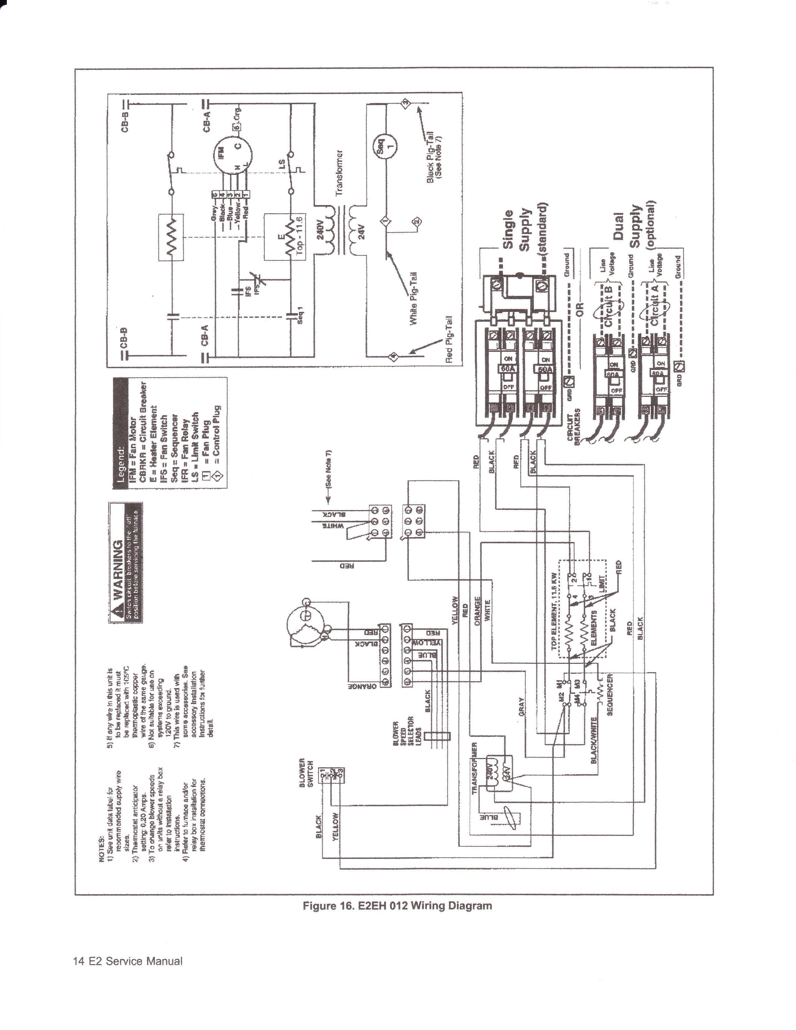 nordyne heat pump wiring diagram thermostat