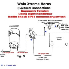 Train Horn Wiring Diagram Ford Steering Box Omega Gauges Sample