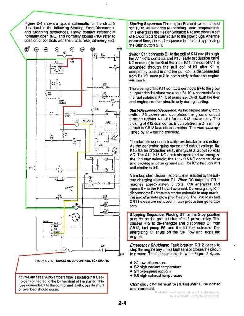 Circuit Diagram In Addition Onan Generator Remote Start ... on