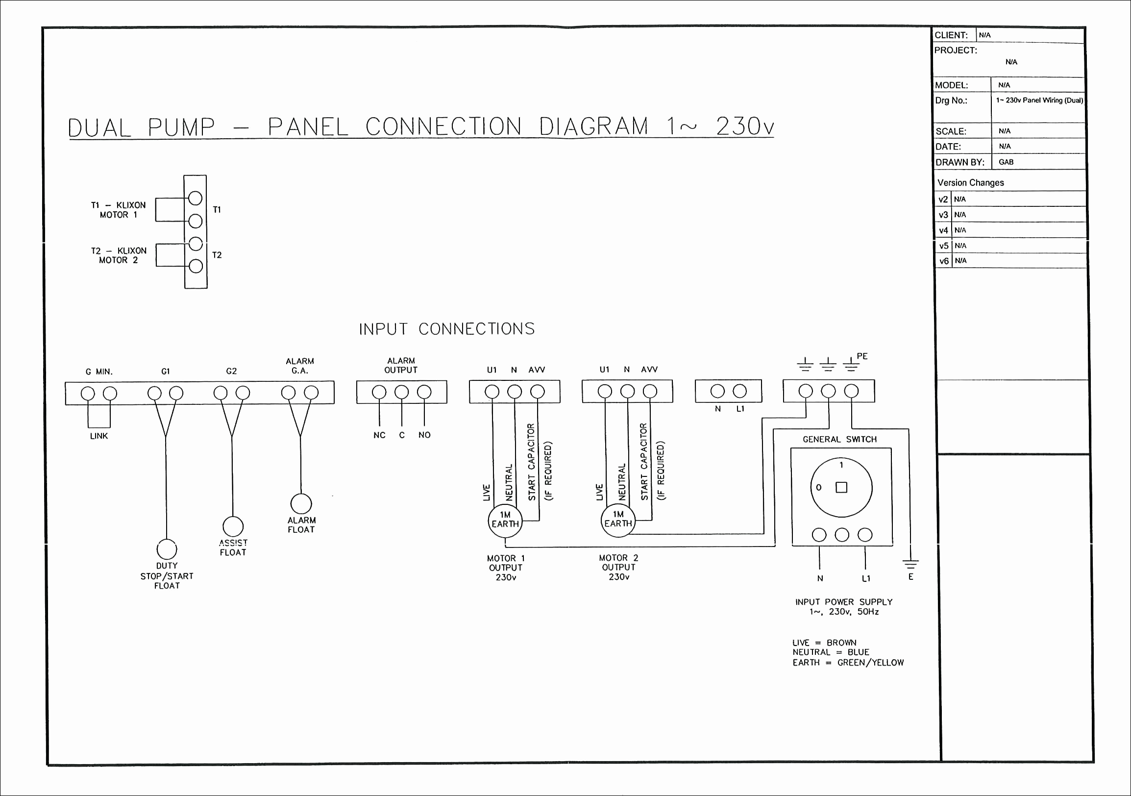 switch panel wiring diagram trailer 7 wire orenco systems control gallery