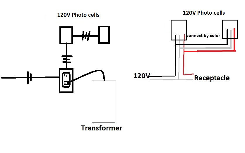 Photocell Switch Wiring Diagram. Photocell Switch Wiring