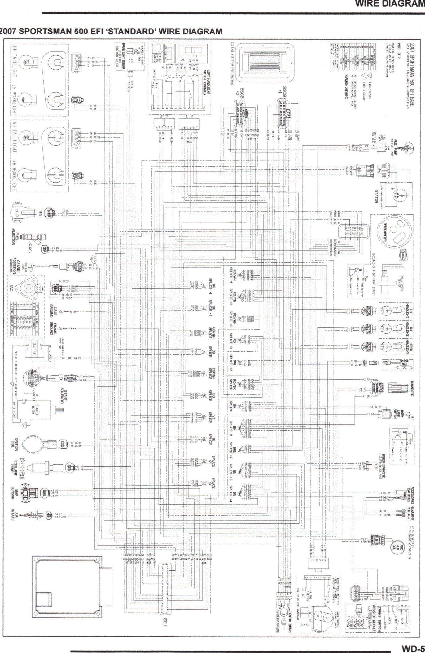Polari Sportsman 90 Wiring Diagram