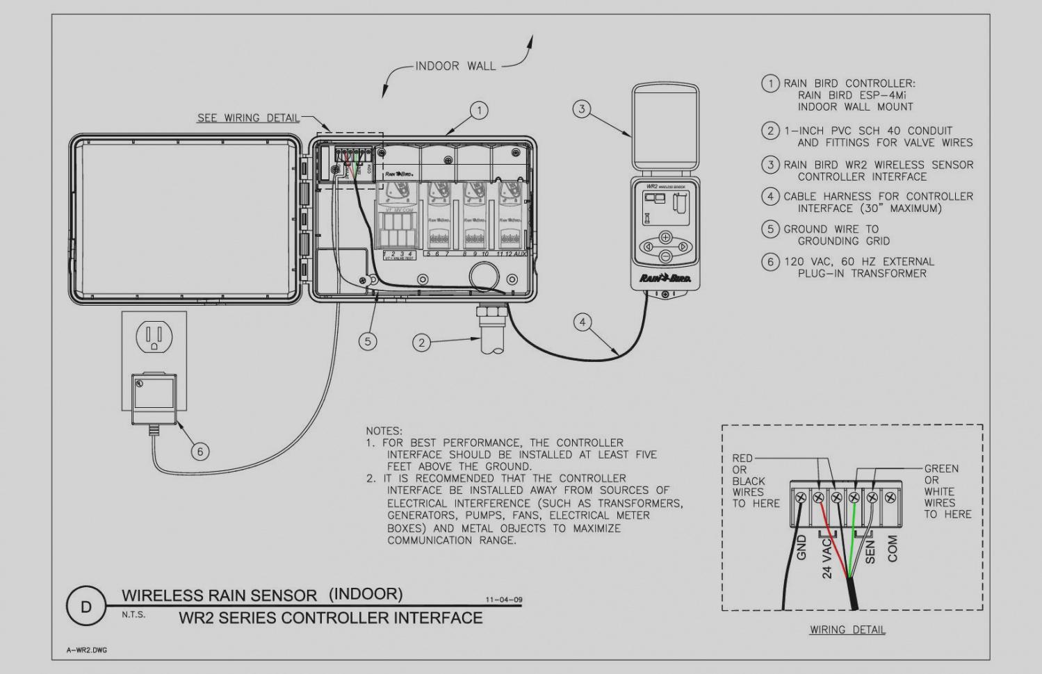 Rain Bird 24vac Wiring Diagrams Diagram
