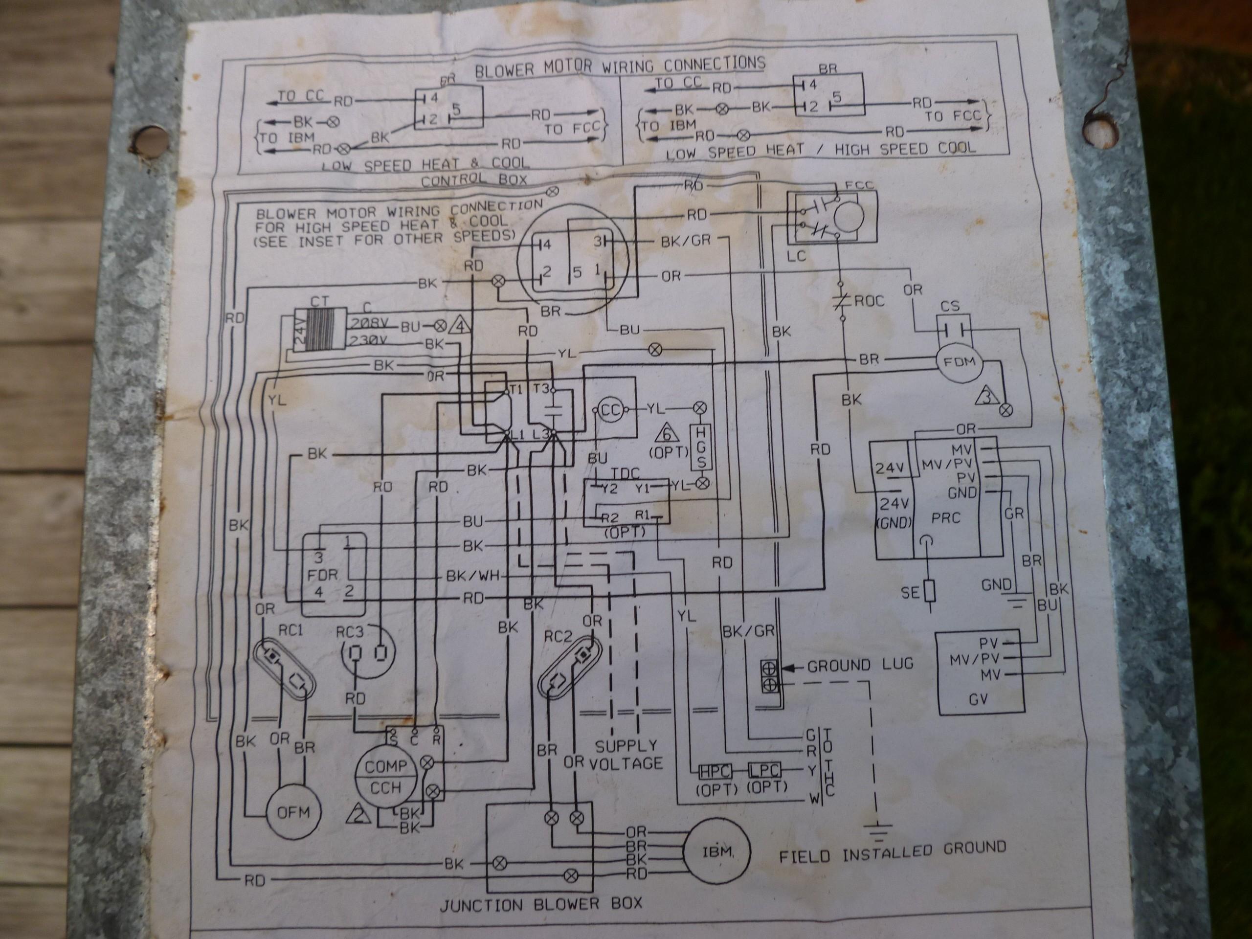 M5350 Rheem Wiring Diagram