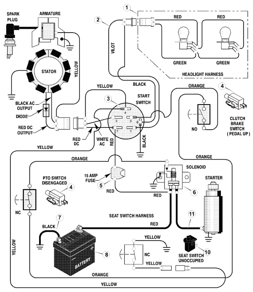 Pollak Ignition Switch Wiring Diagram Pressure Washer