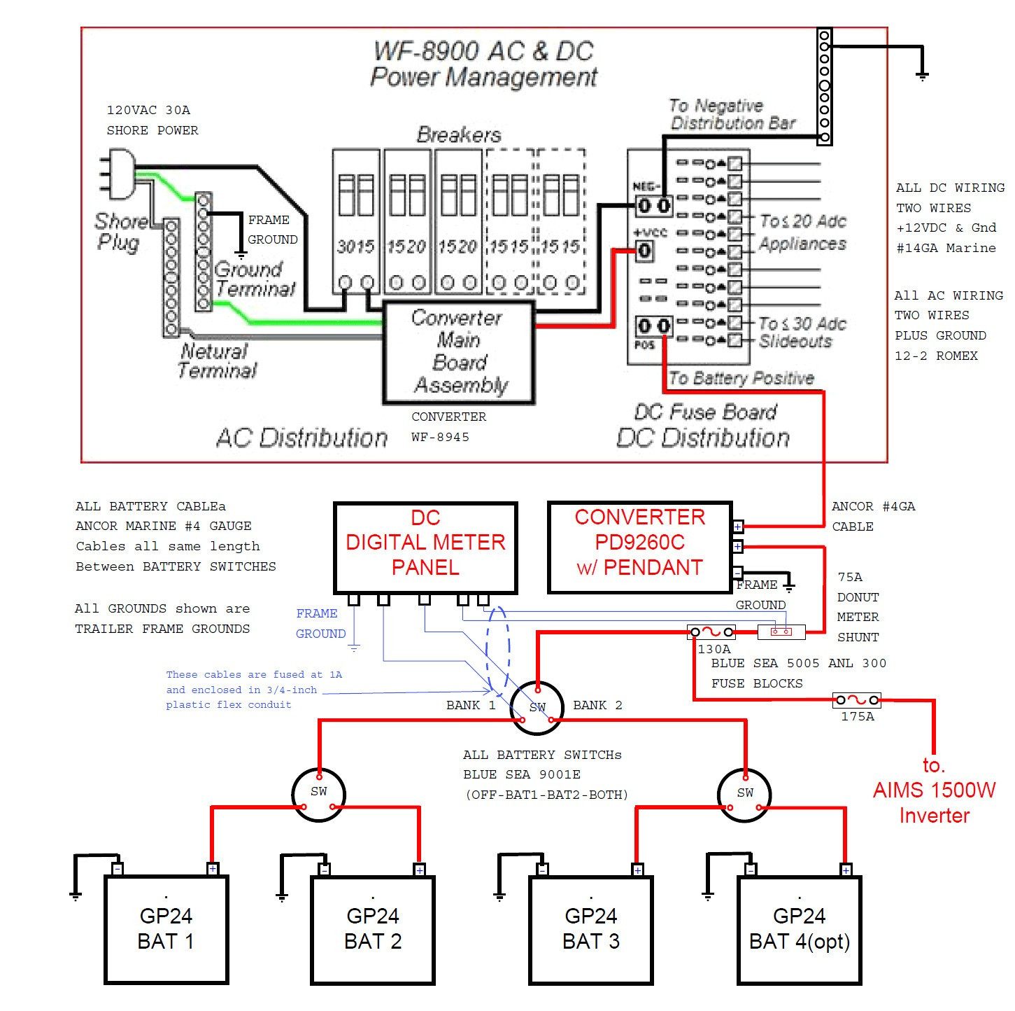 rv dual battery switch wiring diagram for epiphone les paul guitar disconnect collection diagrams new download