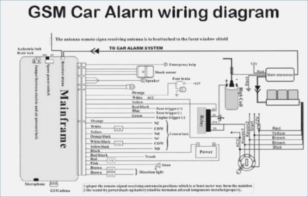 Auto Alarm Wiring Diagram | Repair Manual on