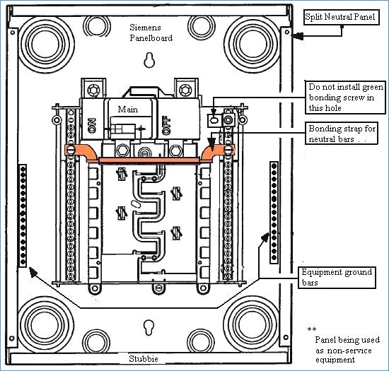 Breathtaking Main Electrical Sub Panel Wiring Diagram