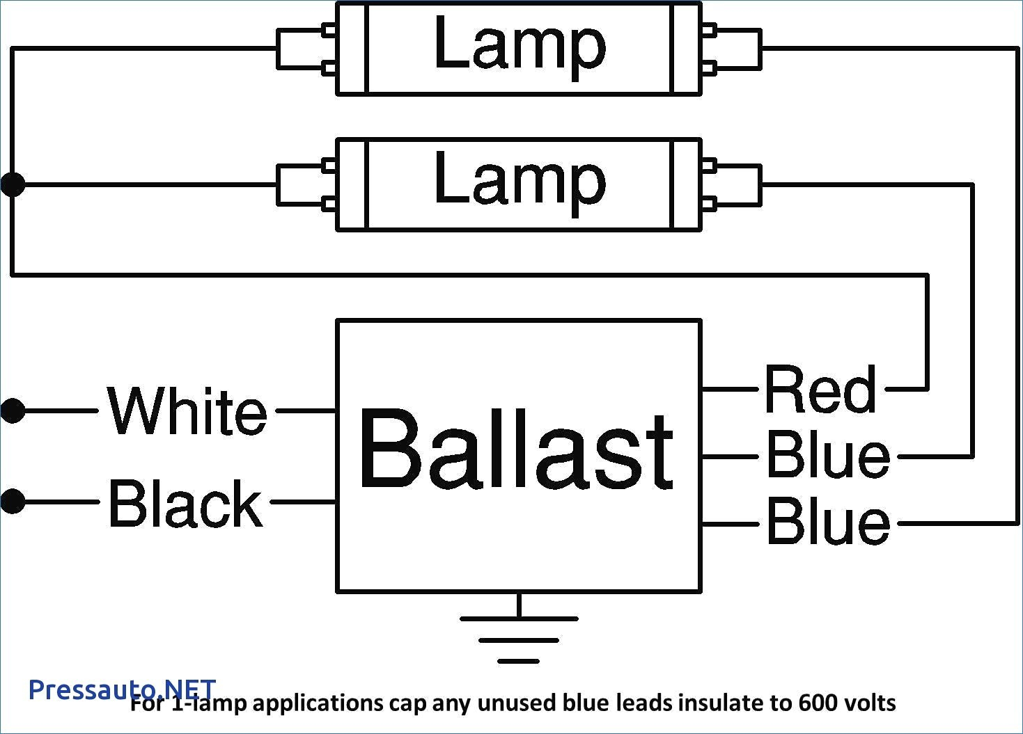 wiring diagram of fluorescent sign
