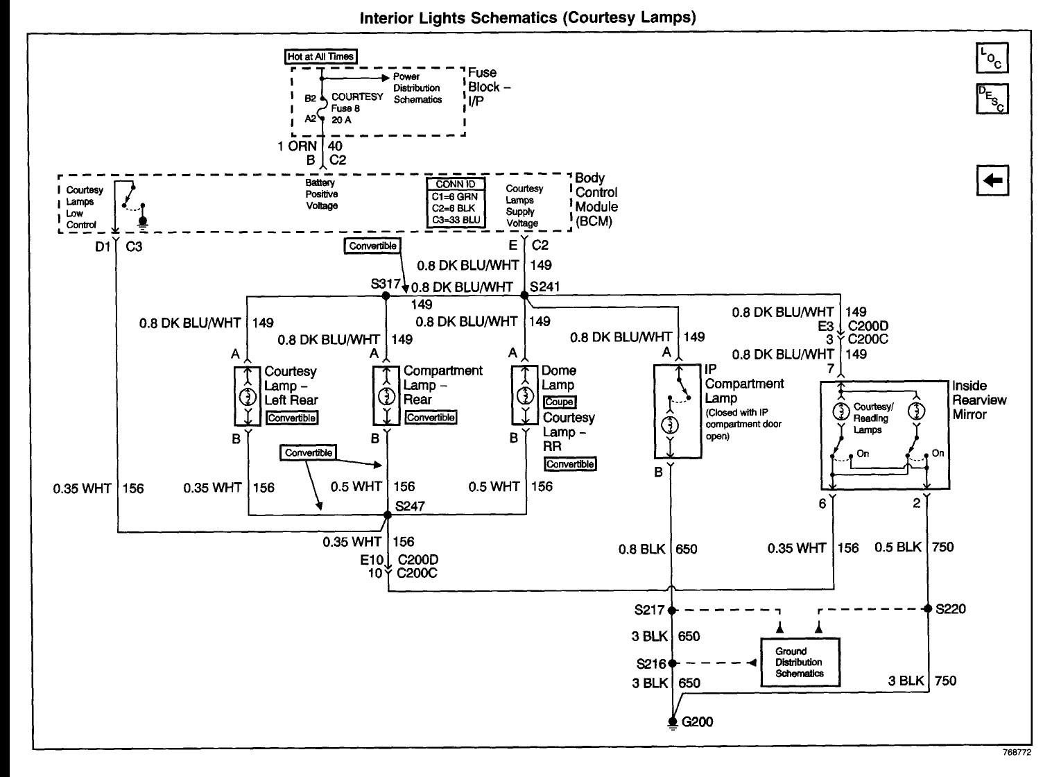 onstar wiring diagram electrical circuit for a gm rear view mirror silverado collection rh faceitsalon com