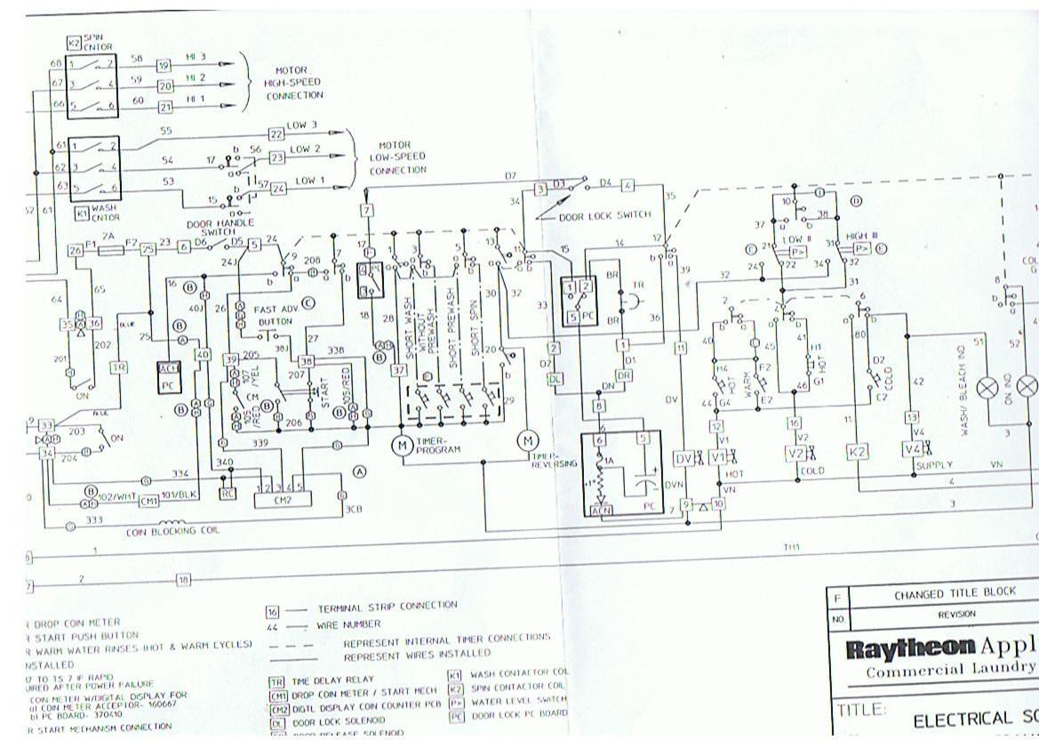 Speed Queen Dryer Wiring Diagram Sample