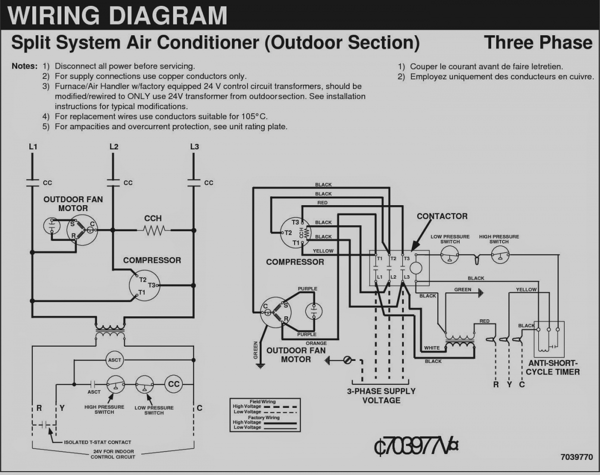 carrier split unit wiring diagram low voltage lighting air conditioner sample |