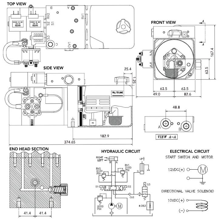 spx hydraulic control wiring diagram
