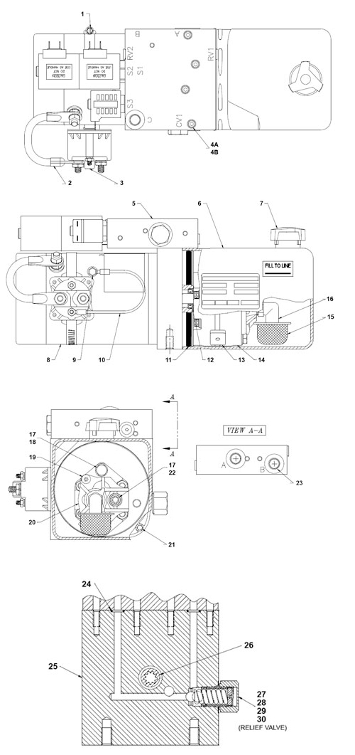 liftgate wiring harness diagram