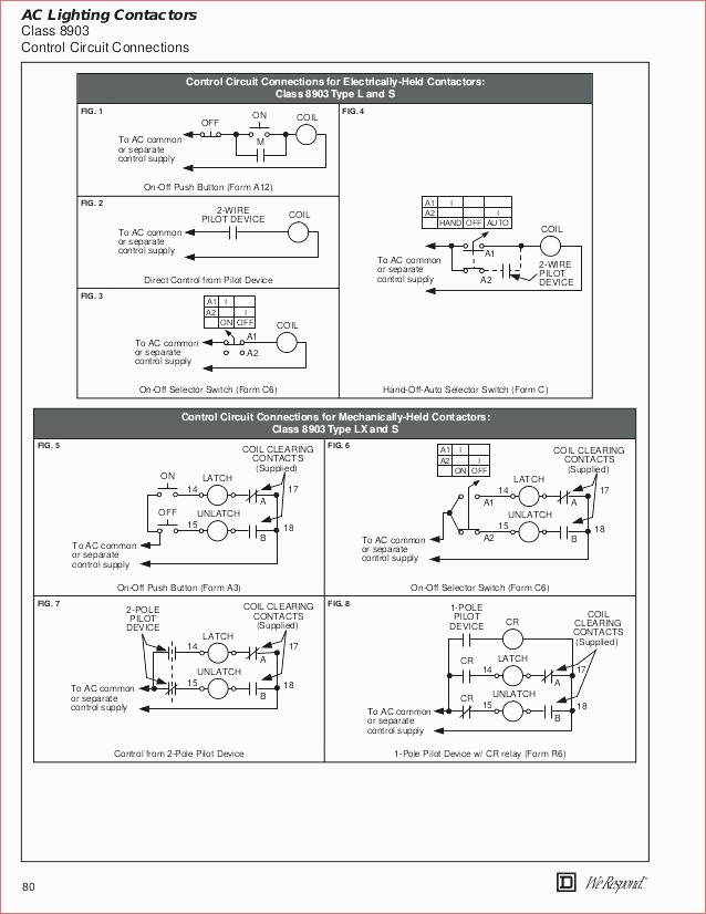 Wiring Diagram For A Lighting Contactor