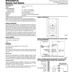 System Sensor Smoke Detector Wiring Diagram 5 Pin Round Plug Collection Download Convention 4 Wire Duct