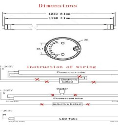t8 led tube wiring diagram download the installation of t8 linear constant current led tube download wiring diagram  [ 1207 x 1001 Pixel ]