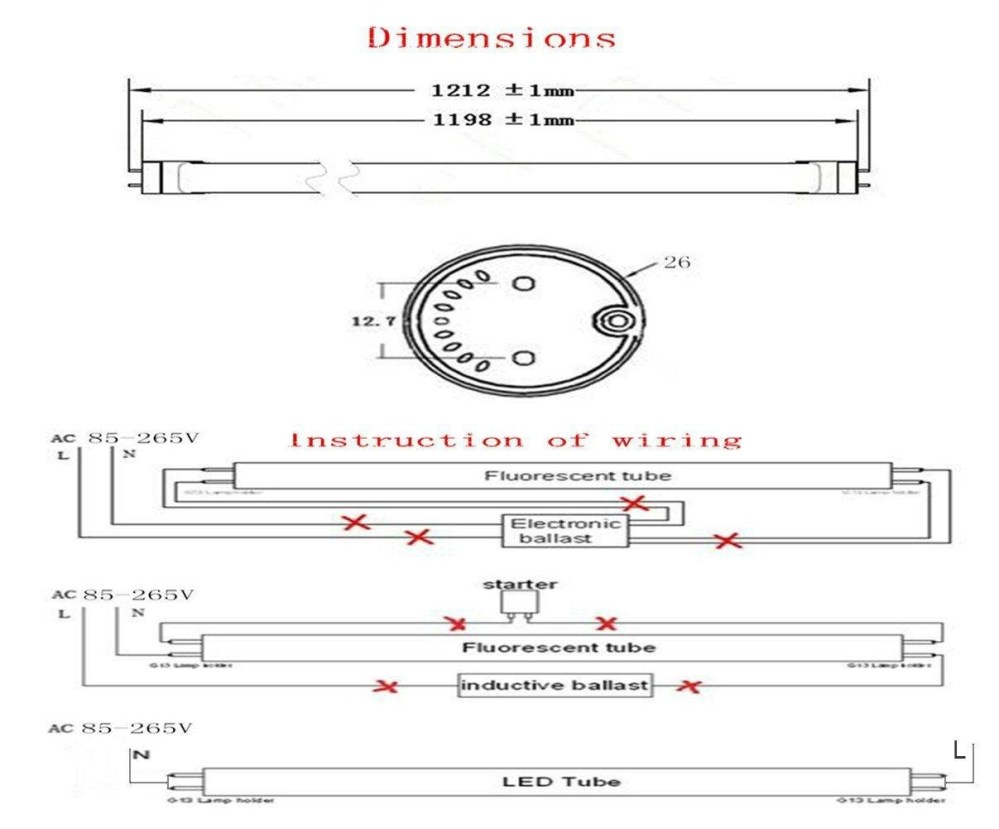 medium resolution of t8 led tube wiring diagram download the installation of t8 linear constant current led tube download wiring diagram