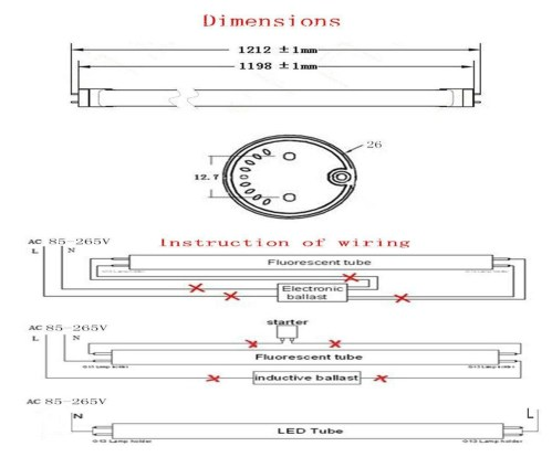 small resolution of t8 led tube wiring diagram download the installation of t8 linear constant current led tube download wiring diagram