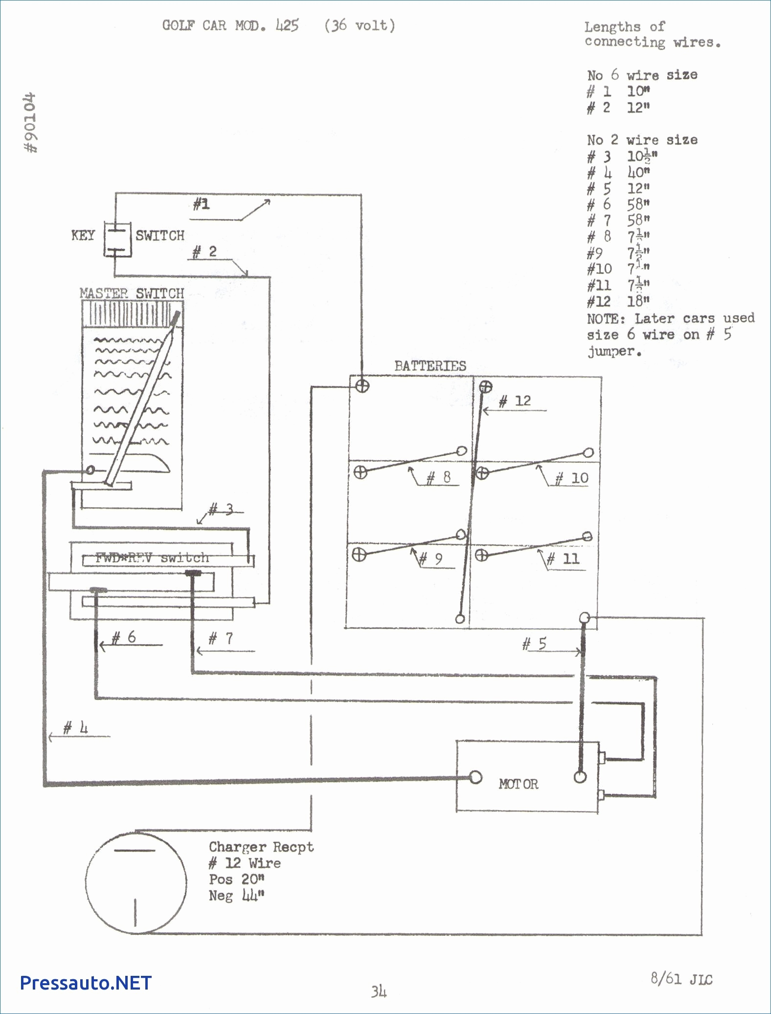 36v battery wiring diagram four wire oxygen sensor 36 volt to 12 library