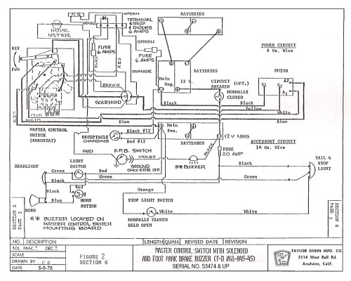 small resolution of taylor dunn 36 volt wiring diagram download great ez go electric golf cart wiring diagram