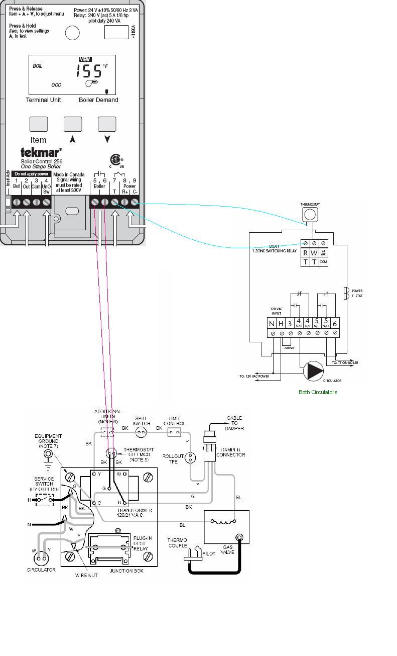 medium resolution of tekmar 256 wiring diagram download boiler wiring weil cga tekmar 256 taco sr501 and t download wiring diagram